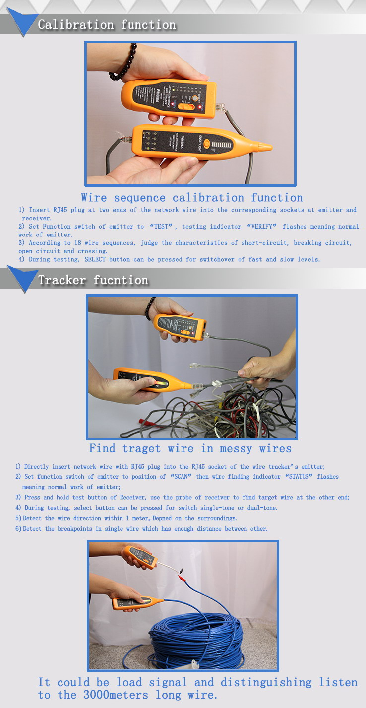 Wh806a Zhangzhou Kexing Electronic Co Ltd Short Circuit Test Open And Or Testing Function Telephone Wire Finding Network Dc Level